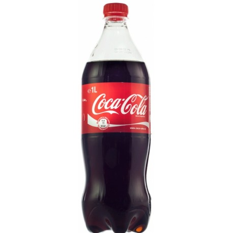 Botella Coca Cola 1L