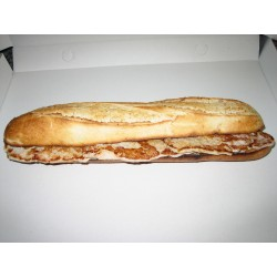Bocadillo baguette Andaluz