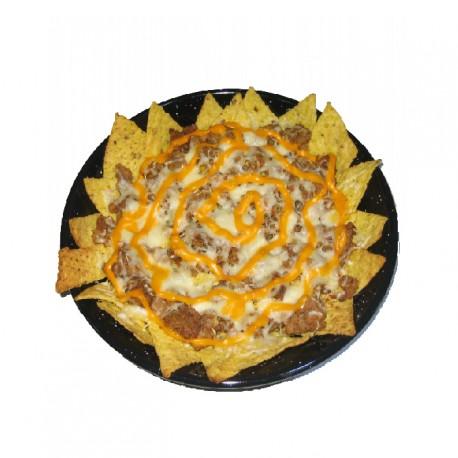 Sartén de nachos puebla
