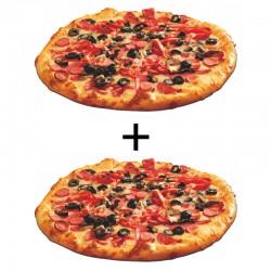 Oferta 2 pizzas medianas (35 cms.) 6,95€ cada una