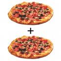 Oferta 2 pizzas familiares (40 cms.) 8,45€ cada una
