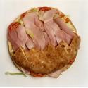 Pan de arabo de jamón york