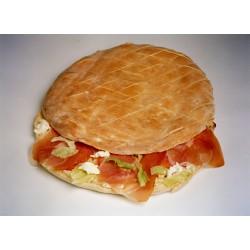 Pan de arabo de jamón