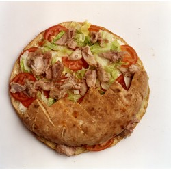 Pan de arabo de pollo