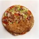 Pan de arabo de pollo