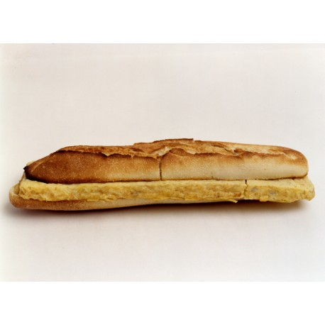 Bocadillo baguette tortilla española