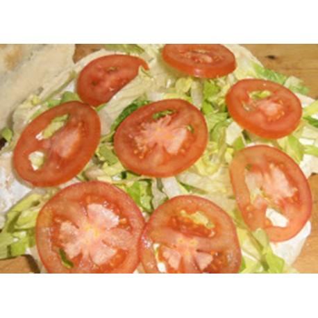 Pan de arabo mitad y mitad al gusto